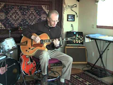 My Cherie Amour - Jazz Guitar Chord Solo -Stevie Wonder Cover by Jim Wright