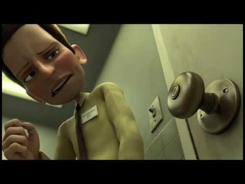 19МИКРОБ  Мультфильм о человеке, который боится грязи и микробов
