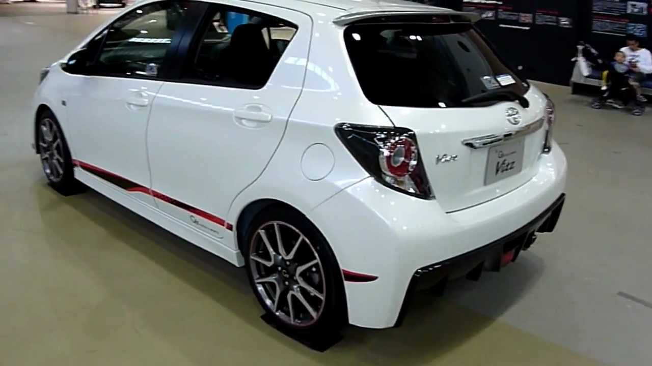 New 2012 Toyota G Sports Yaris Vitz Youtube