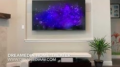 Samsung UN75NU8000 4K TV/ 5.1 in wall surround sound/ Patio Speakers