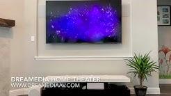 Samsung UN75NU8000 4K TV/ 5.1 in wall surround sound/ Patio Speakers