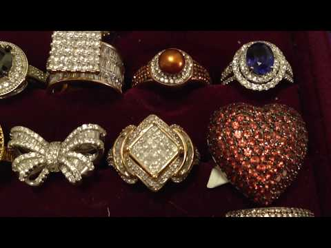 My jewelry collection 2017 rings
