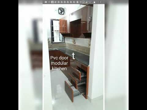 Pvc door workChennai9840216169 Pooja roommodular kitchenlapte