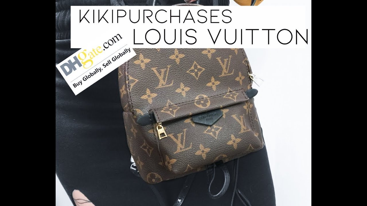 2969c2617b3e Kikipurchases  LOUIS VUITTON BACKPACK - DHGATE! - YouTube