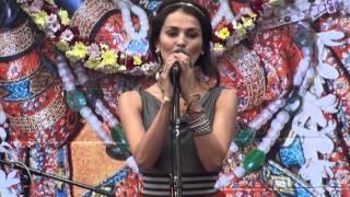 Sati Kazanova & Bittu Mallick. Moscow Kirtan Festival 13.09.14 HD