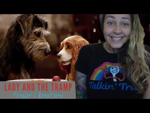 Lady and the Tramp Official Trailer #2 Reaction and Review (Disney+)