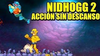 NIDHOGG 2 - RISAS Y PRISAS NON STOP | Gameplay Español