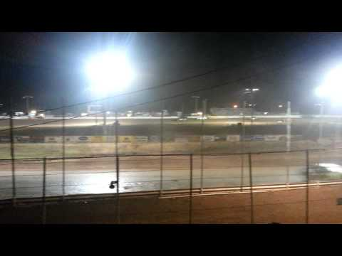 Abilene speedway imca stock class A main part 2