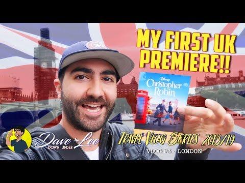 My First UK Movie Premiere!