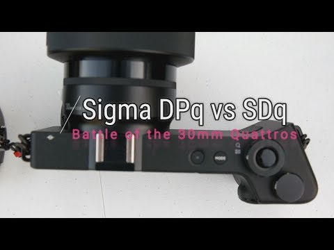 Sigma SD Quattro Kit vs Sigma DP2 Quattro - Initial Comparison Review