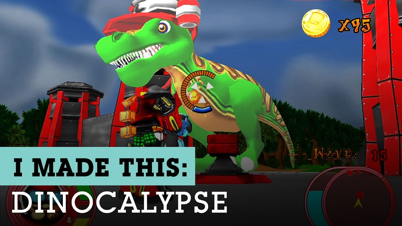 Dinocalypse Full Sail University Student Final Game Design Project - Full sail university game design