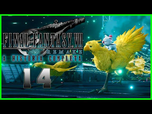 Final Fantasy VII Remake : A Historia Completa - Parte 14 - CAPSLOCK