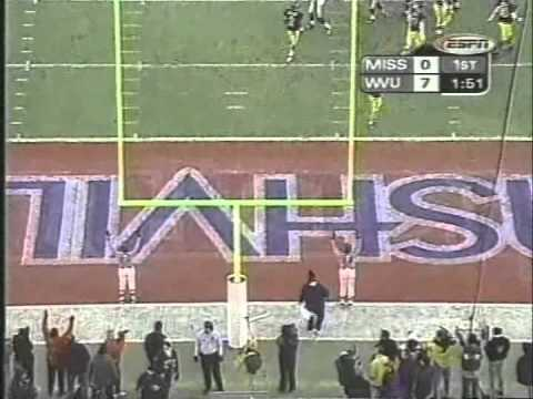 2000 Music City Bowl West Virginia vs  Mississippi 1st Half
