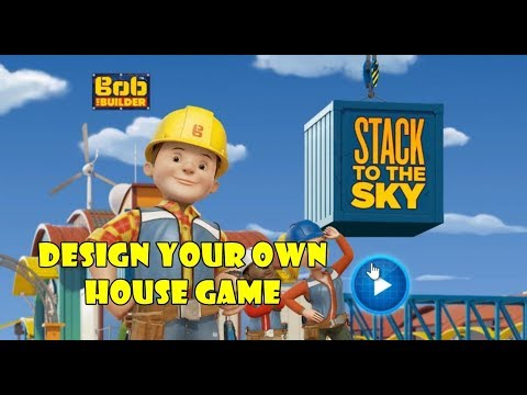 Design Your Own House Game   Bob The Builder   PBS KIDS - Games For  Childrens