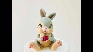 How To Make Thumper Part 2. Como Modelar El Conejito Thumper.