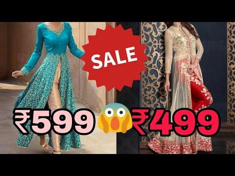 Buy beautiful front slit kurta with pants/cheapest price ever/retail rate /kurta pants - 동영상
