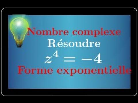 Nombre Complexe : Exercice Type Bac: Équation - Forme exponentielle - Argument - Conjugué IMPORTANT