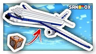 모드없이 하늘을 나는 '블럭' 비행기가 있어요!! [마인크래프트] PE, 콘솔, 윈도우10 [탁주]