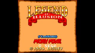 Master System Longplay [069] Legend of Illusion Starring Mickey Mouse
