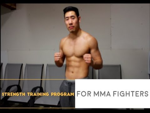 Strength Training Program For MMA Fighters