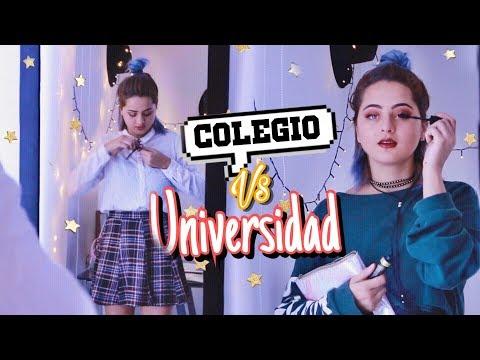 COLEGIO VS UNIVERSIDAD