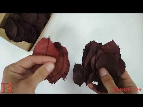 Красные листья розы HRS/2200