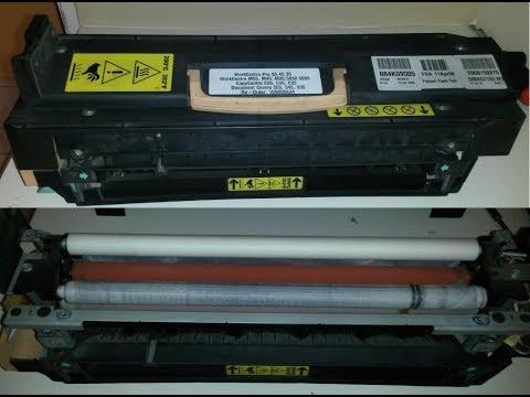 102 Fuser Unit in the Xerox Photocopier