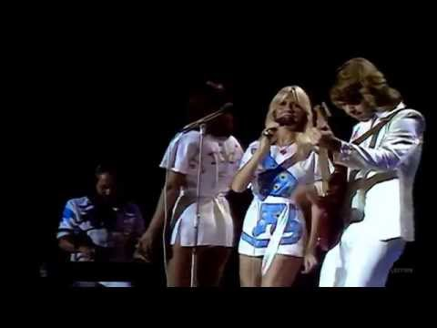 ABBA - SOS Live at Seaside Special (UK) 1975 - Full Screen ▶3:23