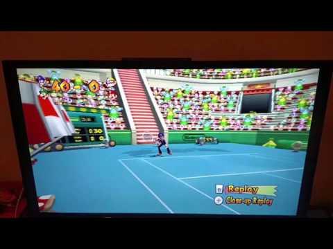 Tennis replay break dance