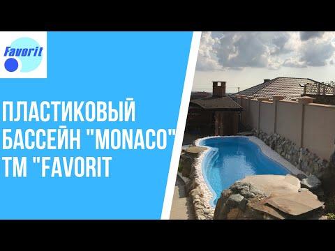 """Пластиковий басейн """"Monaco"""" ТМ """"Favorit"""""""