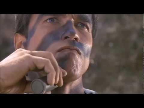 Commando (1985) - Arnie get's Tooled Up
