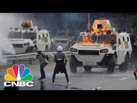 Venezuela Protests Turn Deadly   CNBC