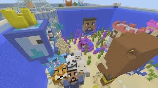 Minecraft XBOX - Hide and Seek - Youtubers Summer