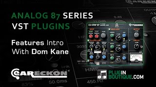 Analog87 Series Audio Processing VST Bundle - Features Review