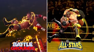 WWE 2K Battlegrounds vs WWE All Stars - Moves Comparison (Which Is Better?)