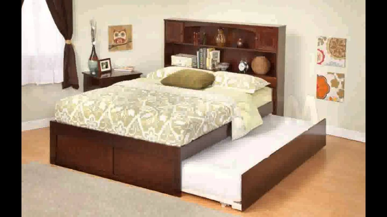 platform trundle bed youtube 12921 | maxresdefault