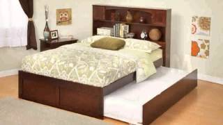 Platform Trundle Bed