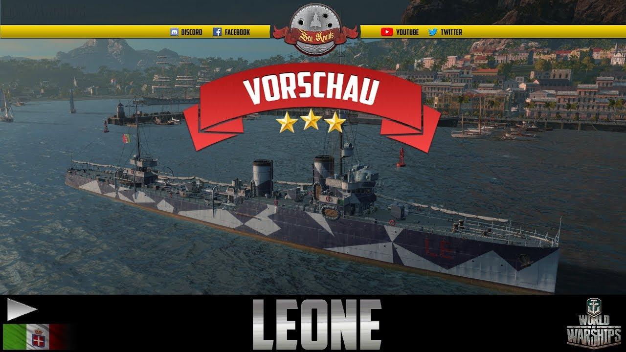 LEONE Preview - deutsch - World of Warships