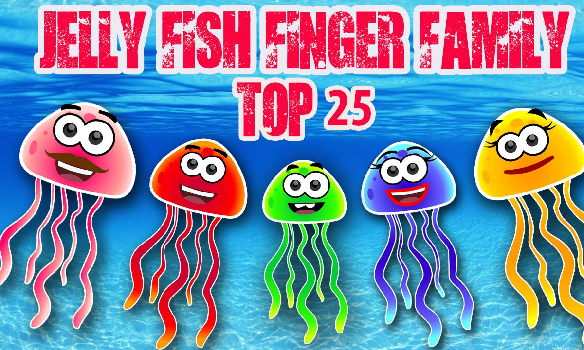 Jelly Fish Finger Family Collections | Jelly Fish Finger ...