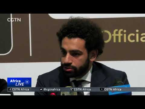 Egypt's Mohamed Salah crowned king of African football