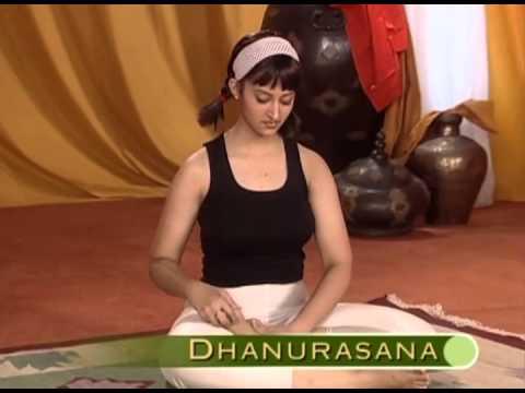 dhanurasana yoga for slimming in english  youtube