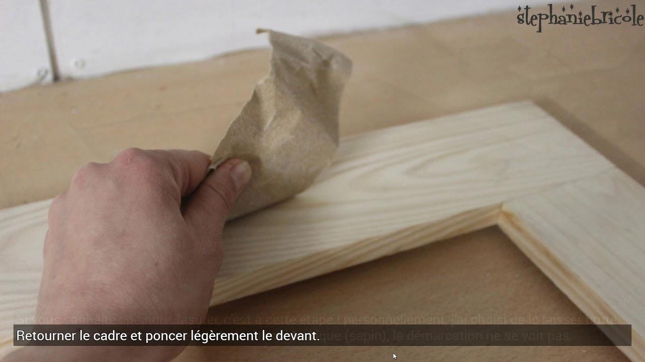 comment faire un cadre miroir en bois sans d fonceuse youtube. Black Bedroom Furniture Sets. Home Design Ideas