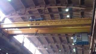 Кран мостовой двухбалочный опорный г/п 50/12т.