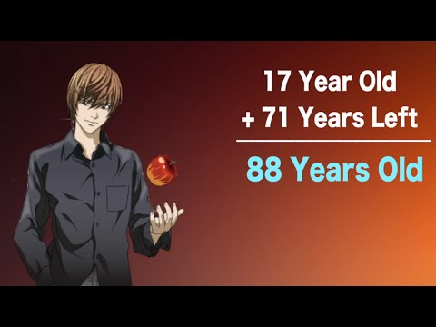 The Lifespans Of Death Note Characters!