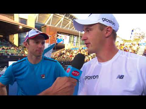Peers and Kontinen speak after a great start for Team Austra