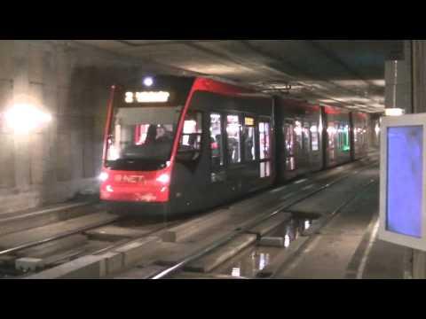Trein, metro, sneltram en tram in Rotterdam, Den Haag en Utrecht
