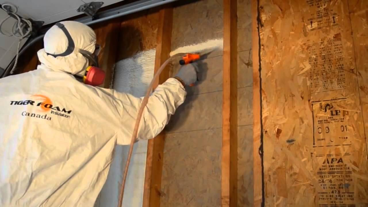 Download Air Sealing Open Wall Cavities with Tiger Foam