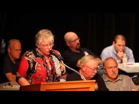 Fort Macleod 2013 Election Forum - Maryanne Sandberg