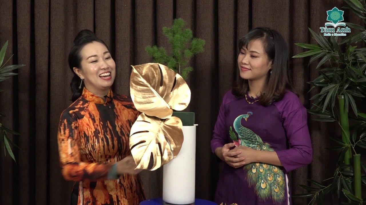 Hướng dẫn cắm Hoa Hồng theo phong cách nghệ thuật độc đáo