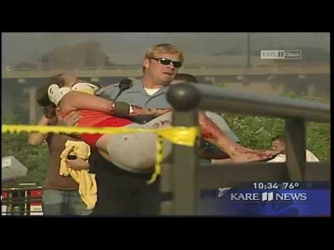 KARE 11 Classic: Boyd Huppert reports on the 35W Bridge Collapse